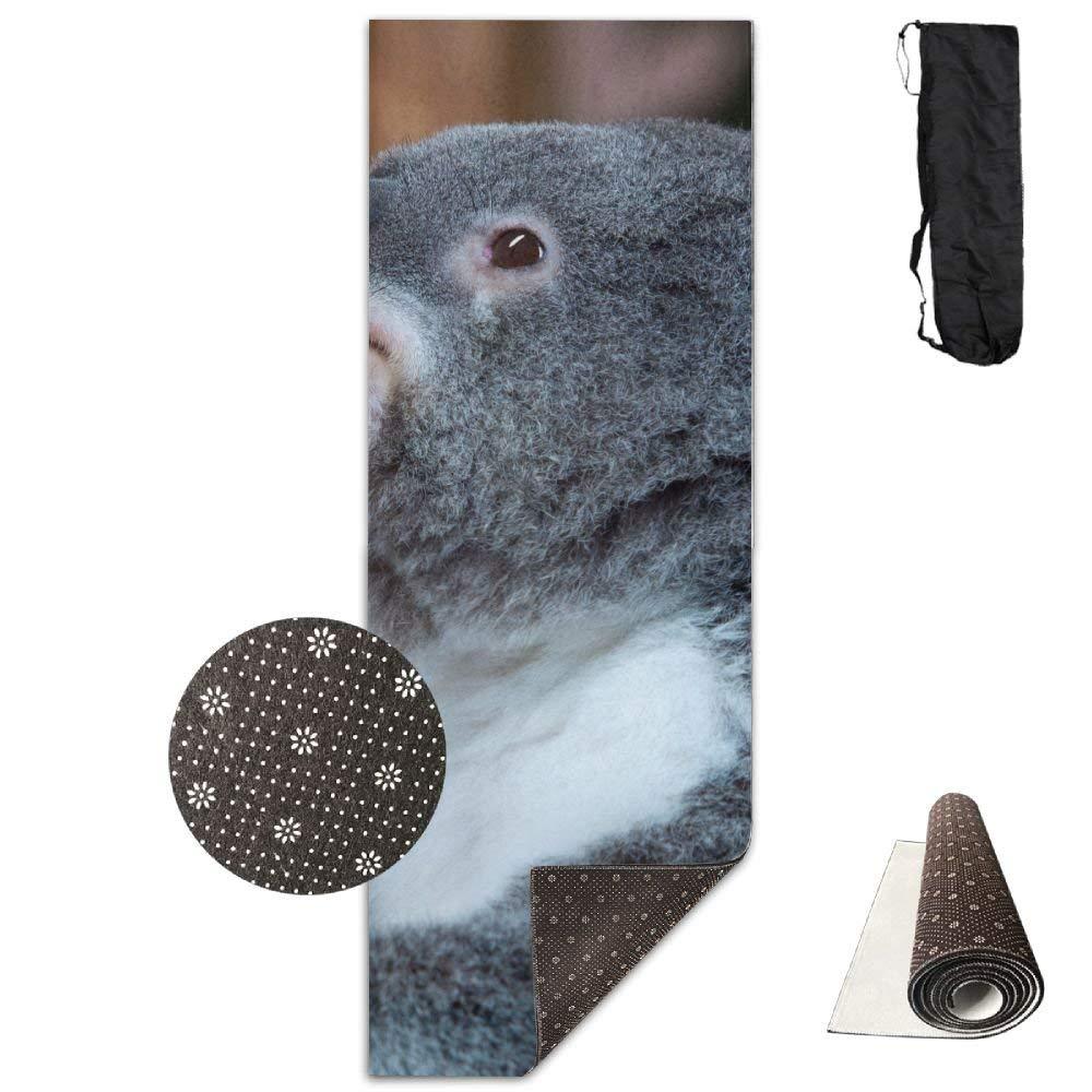 Funny Koala Bear Deluxe,Yoga Mat Aerobic Exercise Pilates Anti-Slip Gymnastics Mats