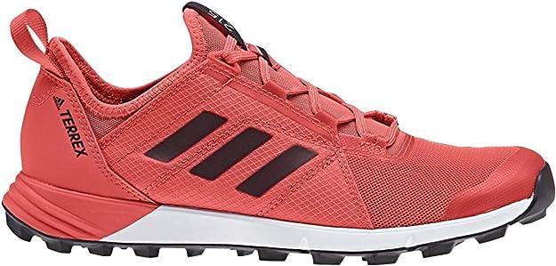 desarrollando Idear luz de sol  Amazon.com | adidas Terrex Agravic Speed Shoe - Womens Trail Running 8 Easy  Coral/Black/White | Trail Running