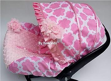 Amazon.com: Rosy - Funda para asiento de bebé de 3 piezas ...