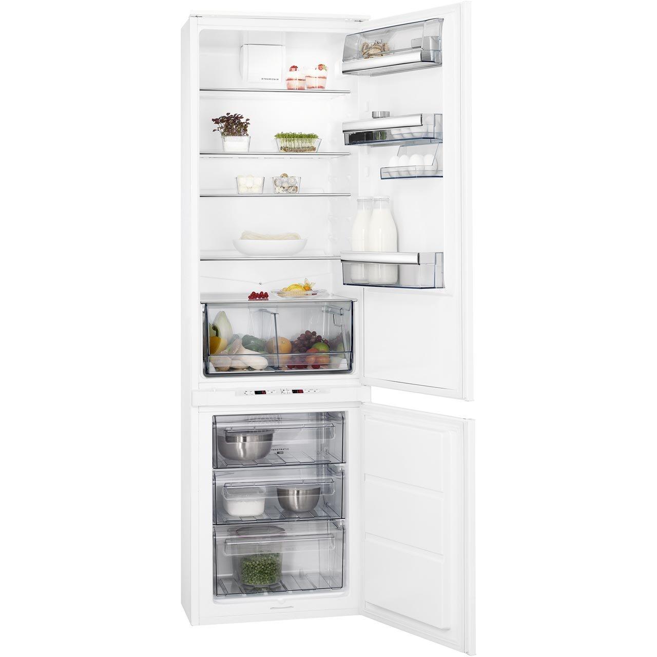 AEG SCS8191LTS Integrated 70/30 Frost Free Fridge Freezer with Sliding Door Fixing Kit White
