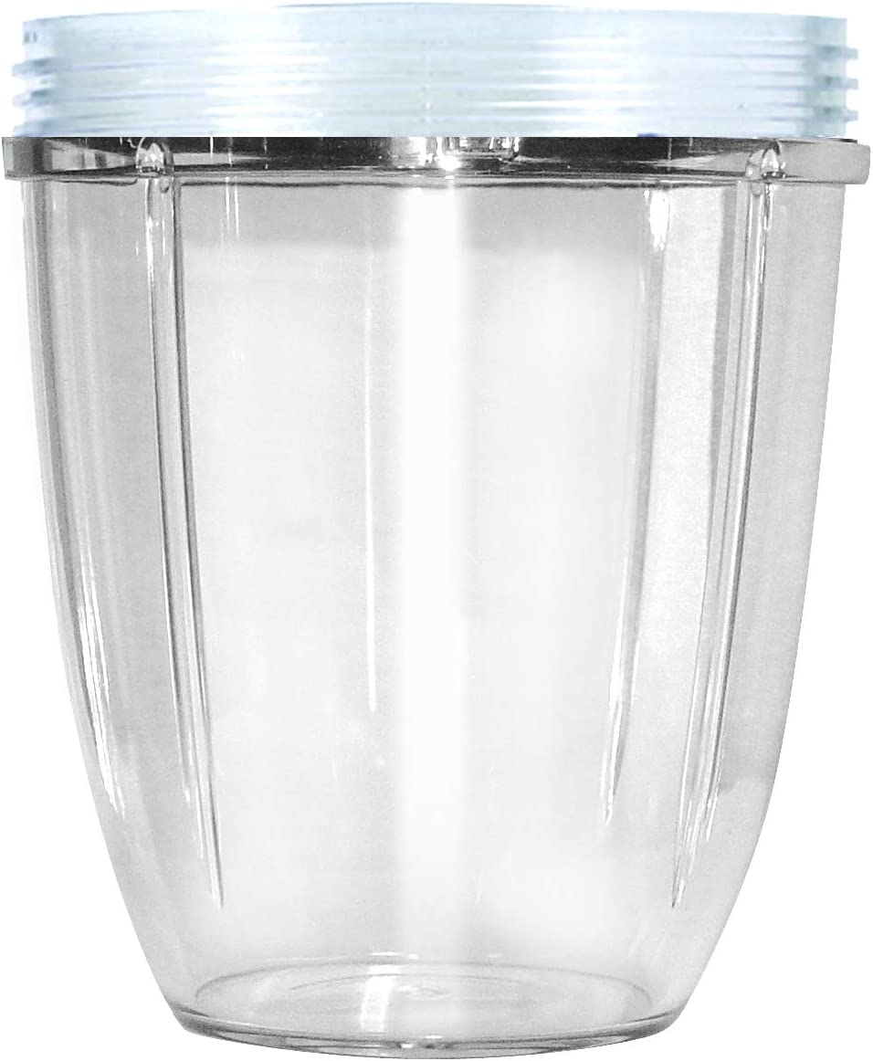 Nutribullet NBM-VE011RV Vaso Corto, Transparente: Amazon.es: Hogar