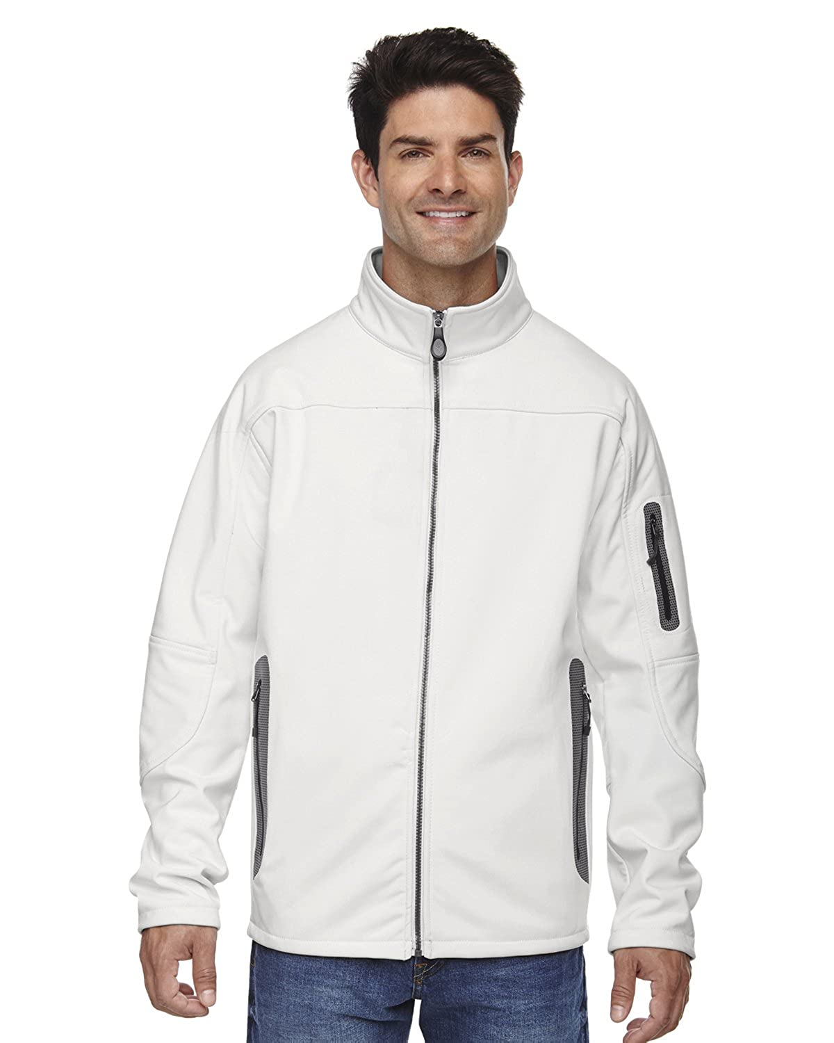 88138 Men's Three-Layer Soft Shell Technical Jacket Ash City - North End M10735