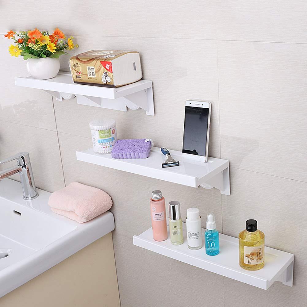 Rziioo Ventosa Mensola Bagno Doccia Adesivo Specchio Finestra Muro Angolo Montato, 1Pcs [Classe di efficienza energetica A] 199201