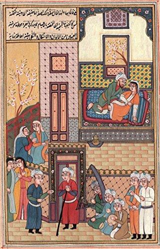 Persian Style Art Handmade Ottoman Turkish Watercolor Paper Miniature Painting - Ottoman Miniature Painting