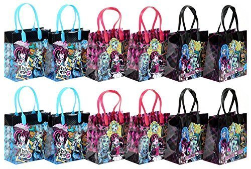 Mattel Monster High Party Favor Goodie Gift Bag