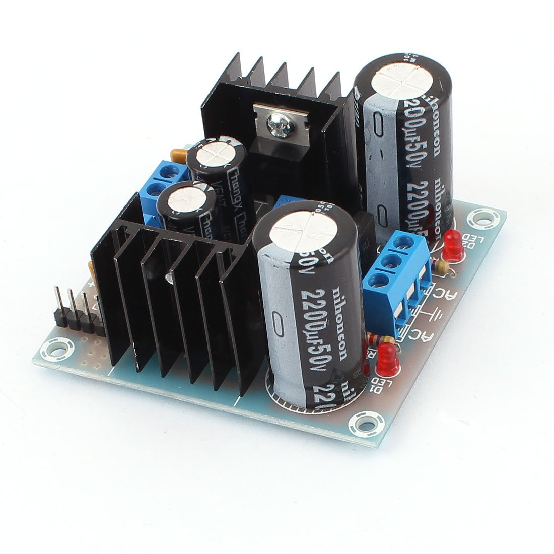 Lm317 Lm337 Ac To Dc Dual Power Supply Voltage Electronics Using Lm 317 Electronic Circuits And Diagram