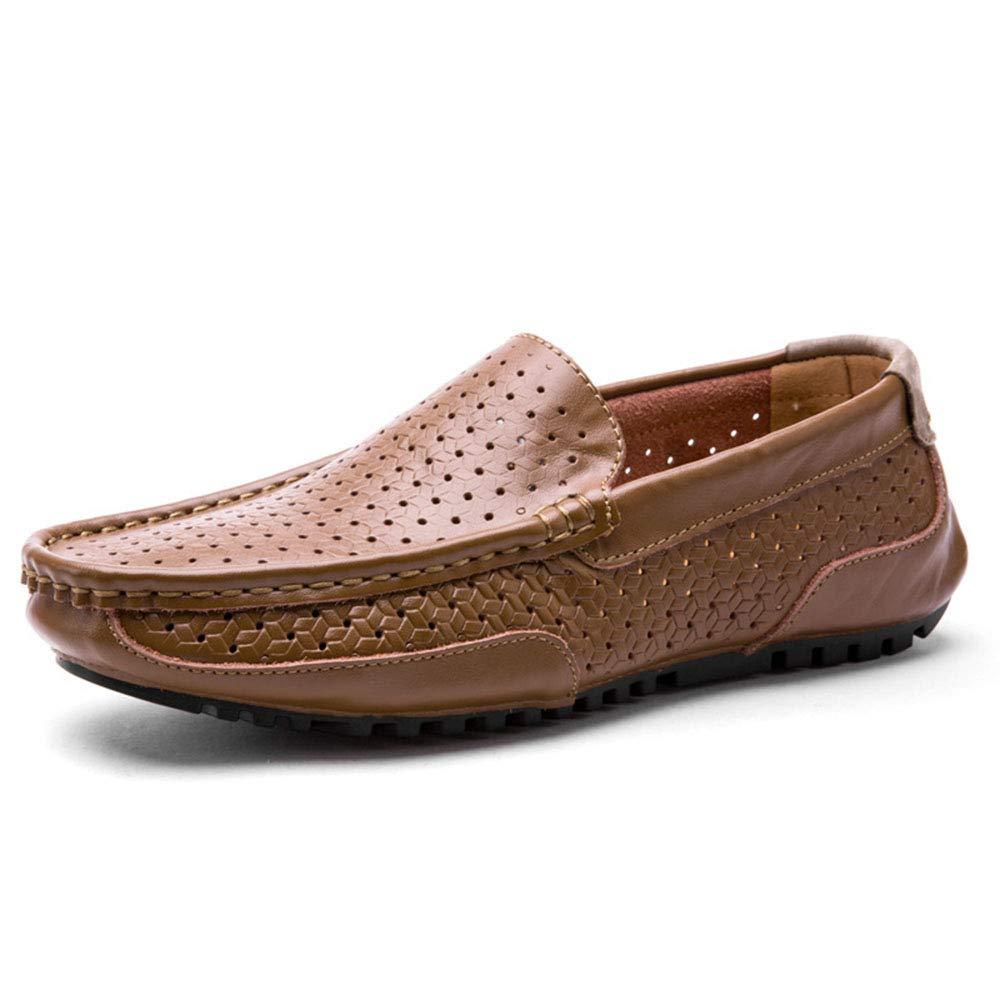 schuheDQ Sommer Männer Casual Schuhe aushöhlen atmungsaktiv Fahrschuhe Mokassins    Won hoch geschätzt und weithin vertraut im in- und Ausland vertraut