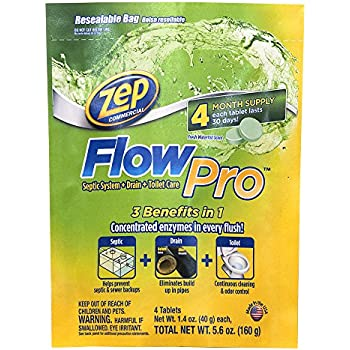 Zep Commercial Acidic Toilet Bowl Cleaner, 32 Ounce: Soil And Soil ...