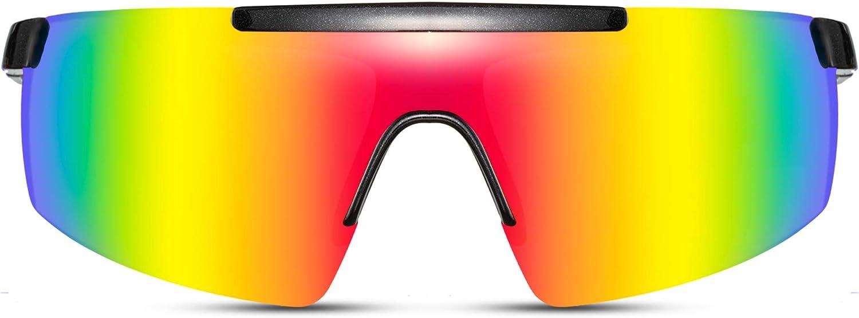 Cheapass Occhiali da Sole Donna Occhiali Oversized UV400 Protetti