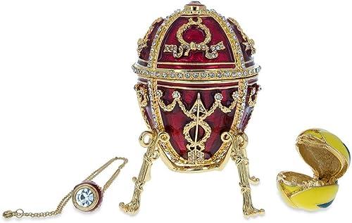 BestPysanky 1895 Rosebud Royal Russian Egg