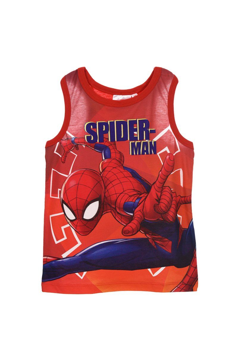 Spiderman Kids Three Color 100% Cotton Tank Tops
