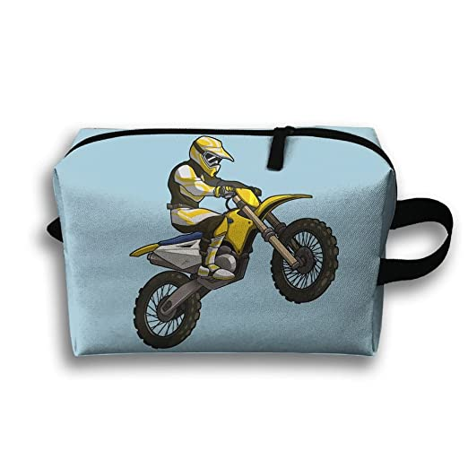 Amazon.com: Storage Bag Travel Pouch Motocross Rider Purse ...