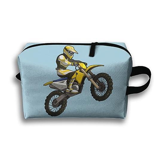 Amazon.com: Storage Bag Travel Pouch Motocross Rider Purse ...