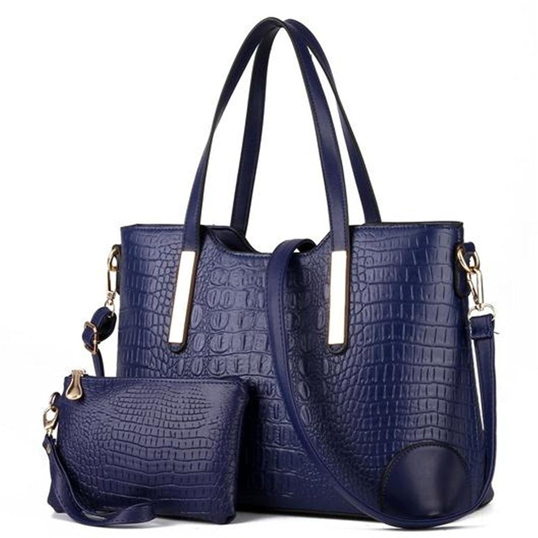 Keller Women's Crocodile Vogue Two-piece Crossdboy Bags & Shoulder Bag Handbag