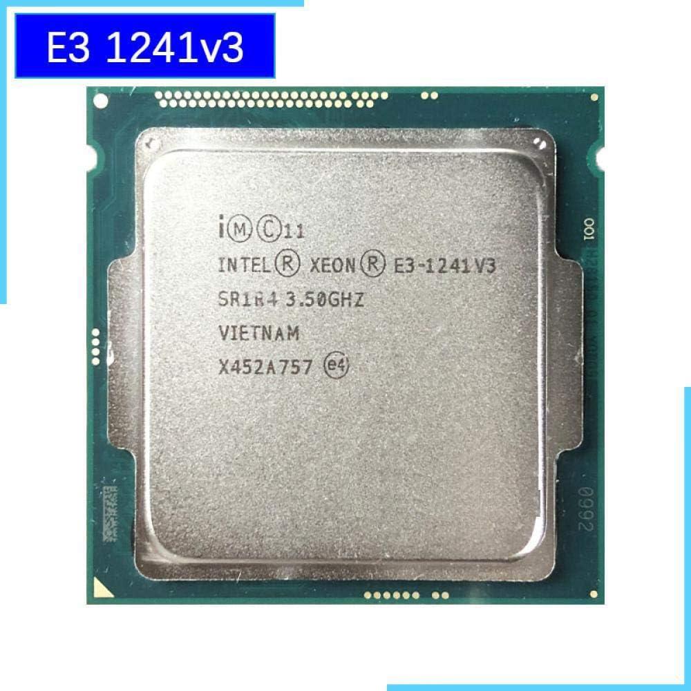 Intel Xeon E3-1241 V3 E3 1241v3 E3 1241 V3 3.5 GHz Quad-Core Eight-Thread CPU Processor 80W LGA 1150