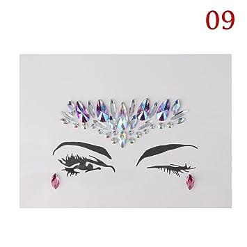 0490ab70a6 Amazon.com : Erovy - 1PC Christmas DIY Eyebrow Adhesive Crystal ...