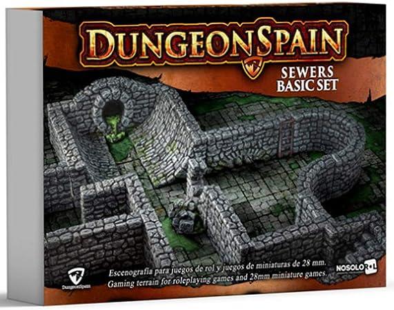 nosolorol DungeonSpain - Alcantarillas: Amazon.es: Juguetes y juegos