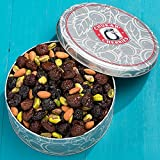 Chukar Cherries Triple Cherry Nut Classic Tin, No Sugar Added