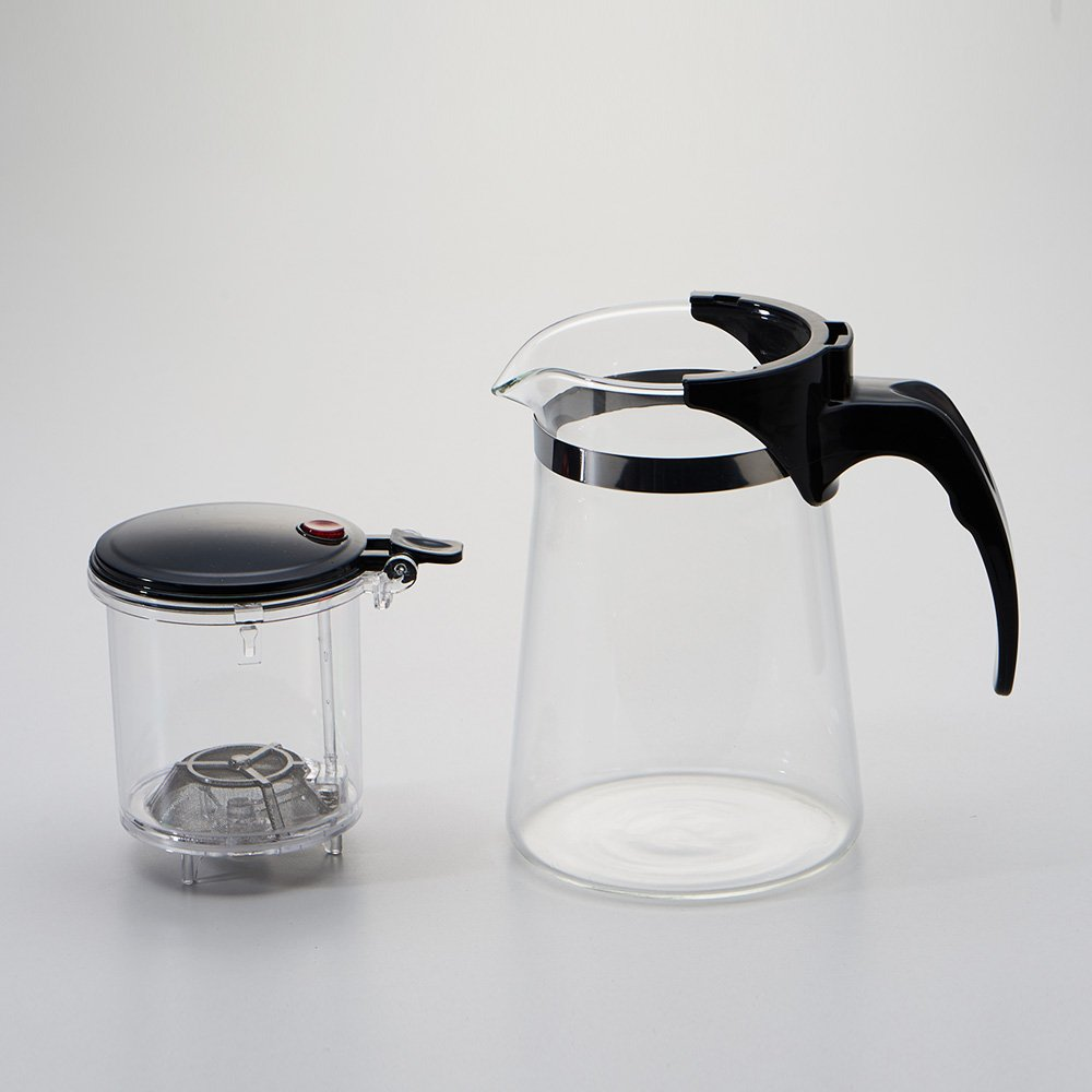 WarmCrystal, Glass Perfect Tea Maker Teapot, Teapots Strainer Included (19 oz) by WarmCrystal (Image #4)