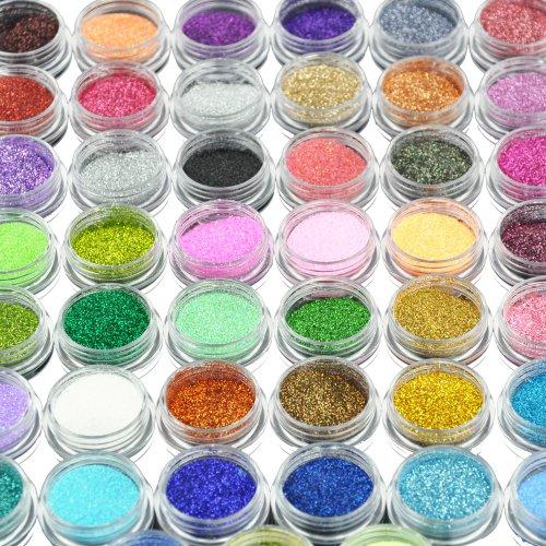 Beauties Factory 45 x Nail Art Glitter Decoration