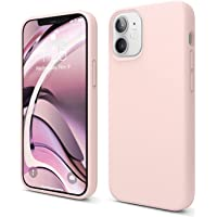 """elago Liquid Silicone Case Designed for iPhone 12 Mini (5.4""""), Premium Silicone, Full Body Protection : 3 Layer…"""