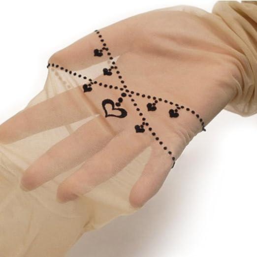 Xiang Mujeres Niñas De Terciopelo Impresión Tatuaje Falsa Tatuaje ...