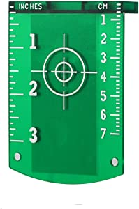 FIRECORE Laser Target Card Plate for Green Beam Laser Level