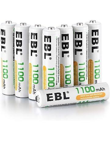 EBL 1100mAh AAA Ni-MH 1200 Ciclo de Pilas Recargables para los Equipos Domésticos con