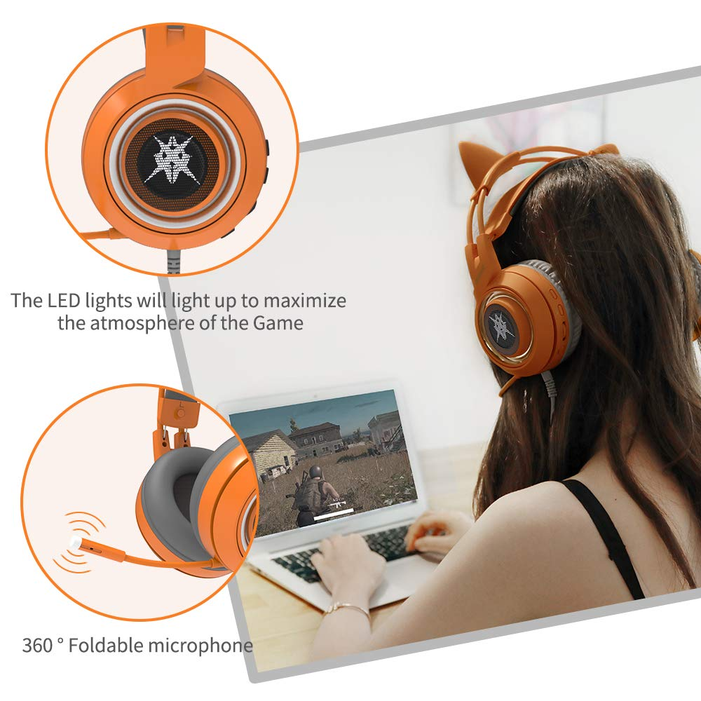 SOMIC G951 Orange Gaming Headset