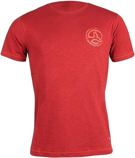 Ternua ® Camiseta SKAN, Hombre, Granate, Manga Corta (M): Amazon.es: Deportes y aire libre
