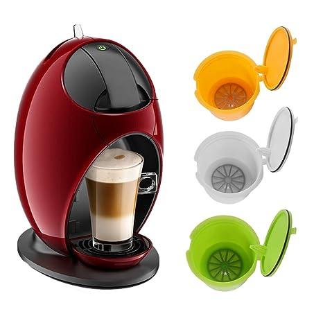 ALLOMN BPA recargable gratis para Dolce Gusto cápsulas de café reutilizables para Nescafe Genius Small Expert
