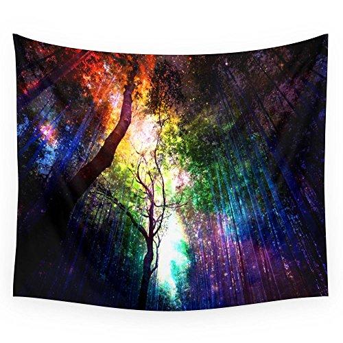 Society6 Rainbow Rain Wall Tapestry bold rainbow home wall art decor - unique wall art