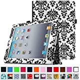 Fintie iPad 2/3/4 Case - Slim Fit Folio Case with Smart Cover Auto Sleep / Wake Feature for Apple iPad 2, the new iPad 3 & iPad 4th Generation with Retina Display, Versailles