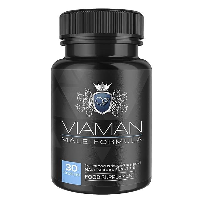 Cápsulas Viaman - Suplemento Masculino Premium Para Potenciar La Virilidad - Mejora El Rendimiento Sexual - Fórmula Natural Retardante Para Mejorar El ...