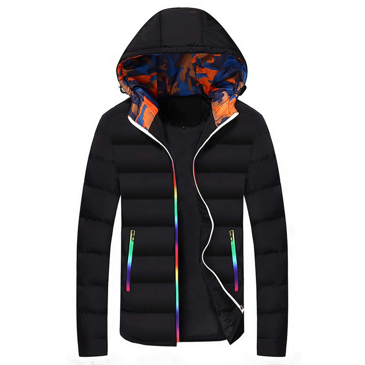 Love essentials Fashion coat Winter Jacket Men Casual Warm Hooded Coats Mens Jackets and Coats Parkas for Male 5XL
