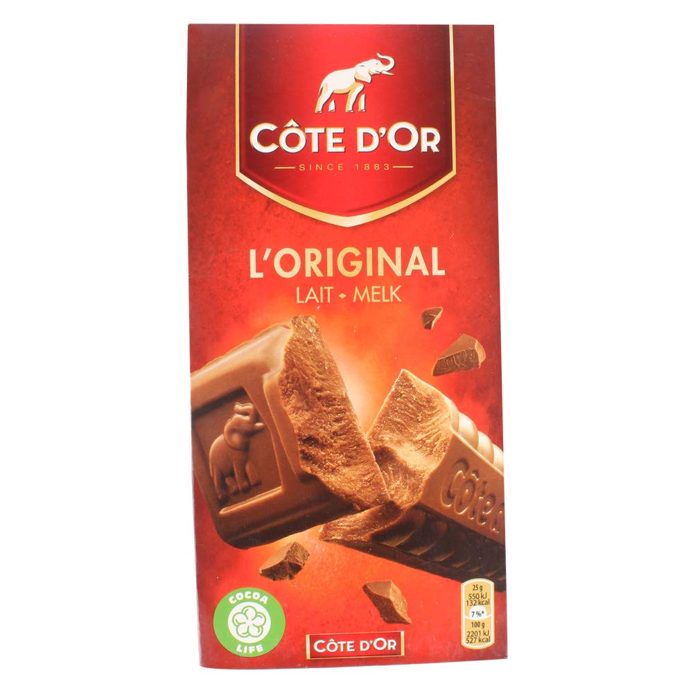 Cote d'Or Milk Chocolate 3 x 100g