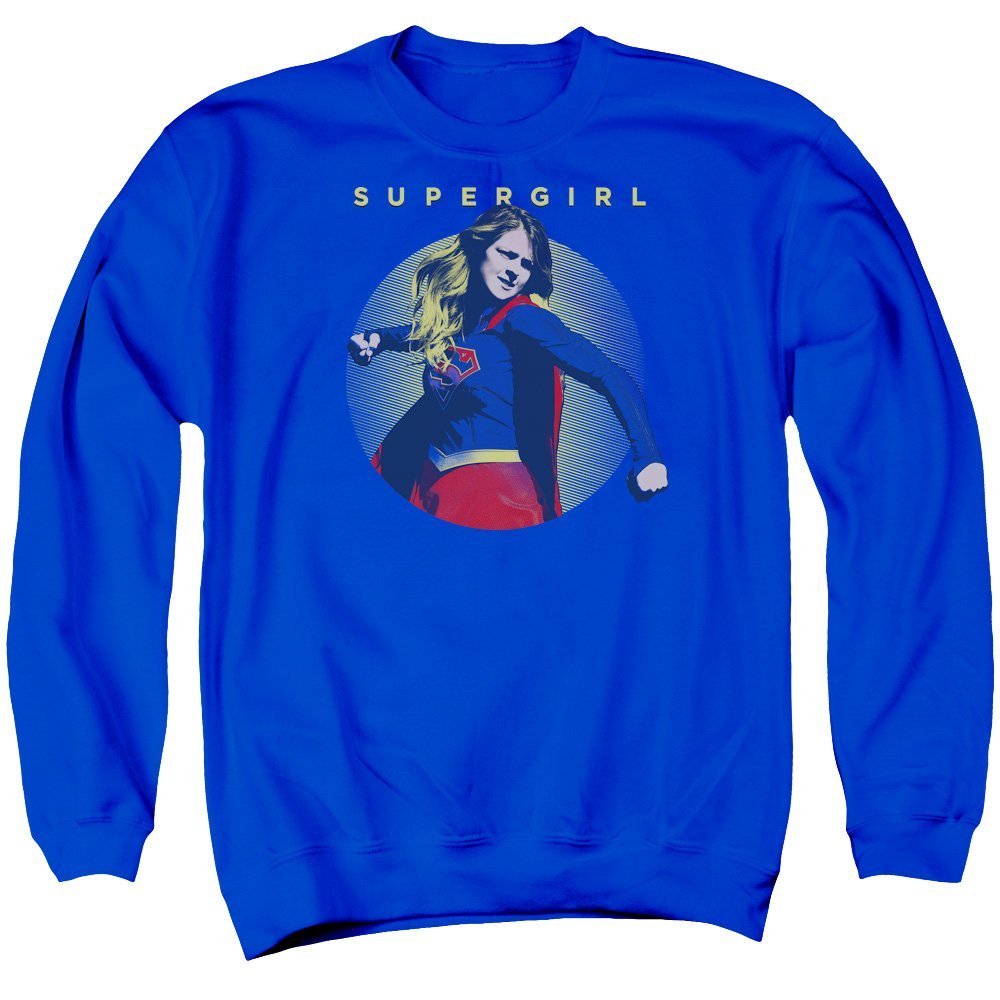 Bleu Marine XX-grand Supergirl - Sweat-shirt - Homme