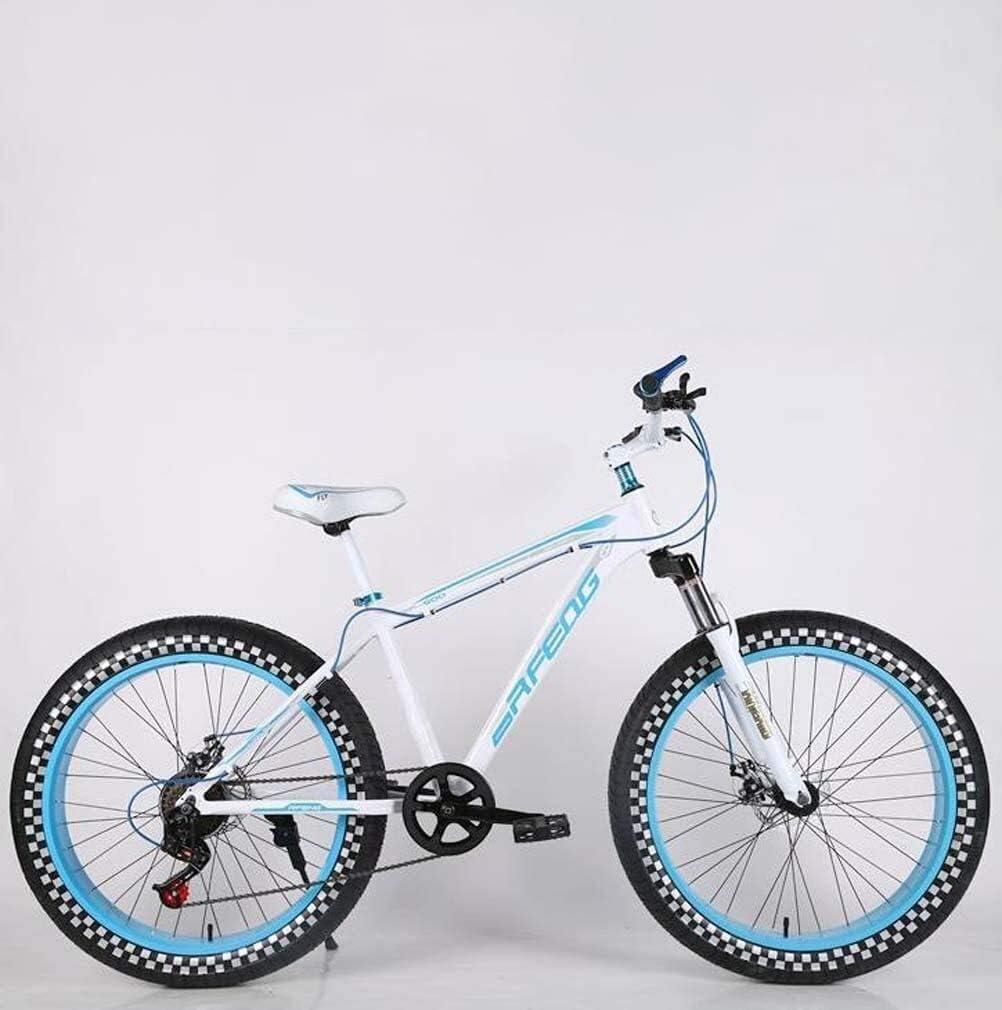 QZ Mens Adultos de Grasa neumático de la Bici de montaña, Doble ...