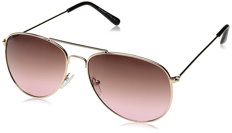 3c016cba9d388 Amazon.com  A.J. Morgan Women s Skye Aviator Sunglasses