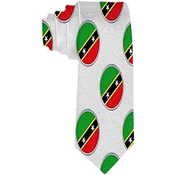 Círculos para hombre con la bandera de Saint Kitts y Nevis Corbata ...