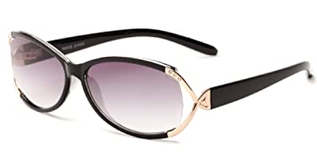 3c8c85b19313 Readers.com The Claire Sun Readers for Women Oval Reading Glasses Trendy  Readers Sunglasses +