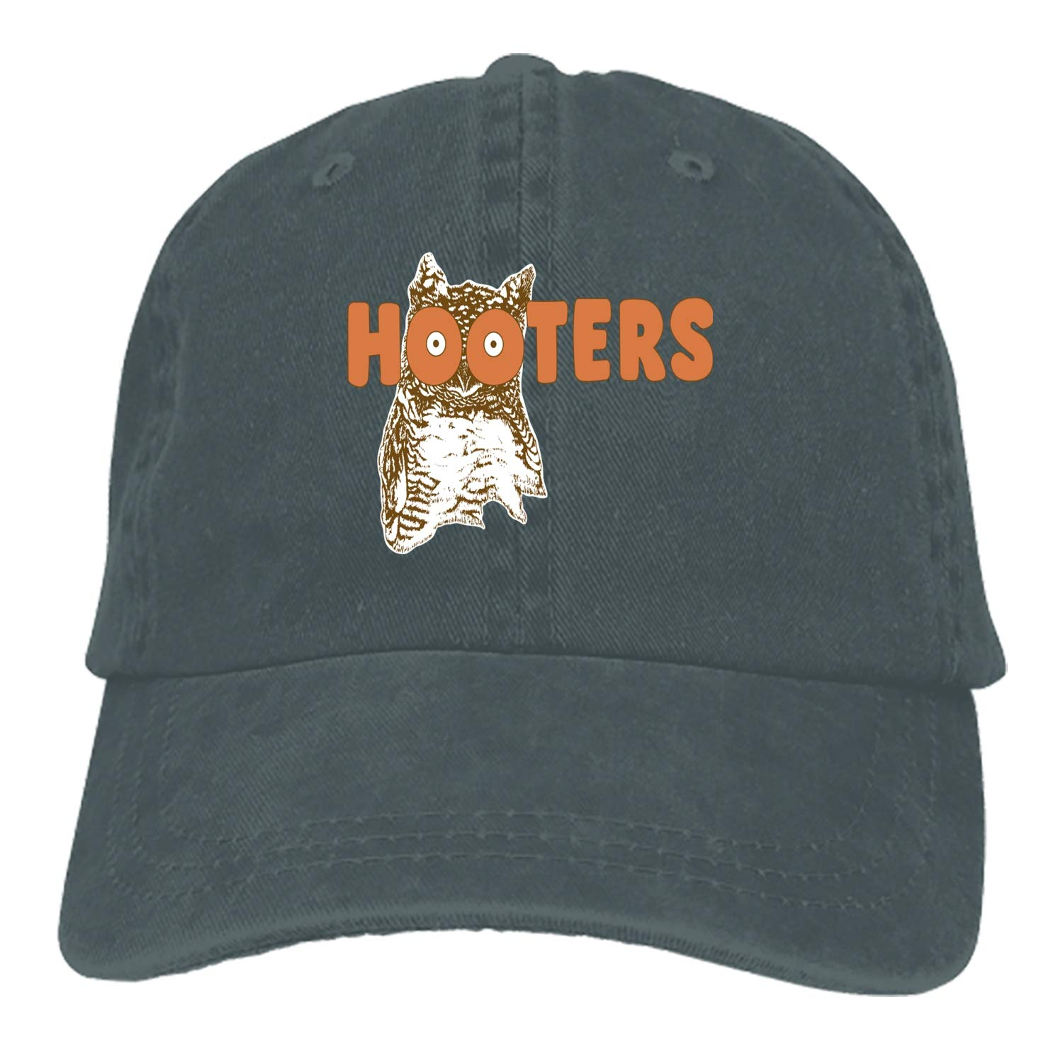 506ed09913dcc CFLY Funny Hooters Denim Cap Cowboy Hat Polo Style Baseball Cap for Men    Women at Amazon Men s Clothing store