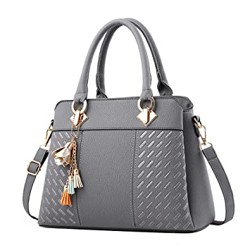 636c67b074 Amazon.com: Women HandBag, Clearance NEARTIME Women Genuine Leather Fashion  Tote Purse Top Handle Satchel Shoulder Bag: Beauty