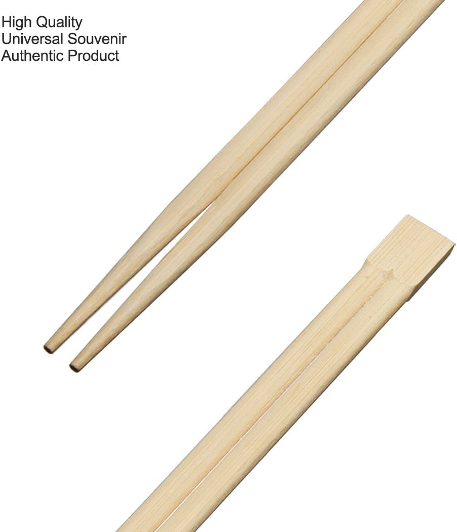 1 Paar Essstäbchen in 24 Karat vergoldet Chopsticks Deluxe China Asia Sticks