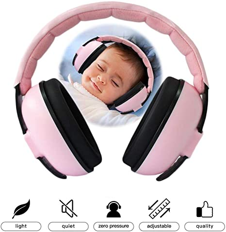 Kids child baby ear muff defenders noise reduction comfort festival protection H