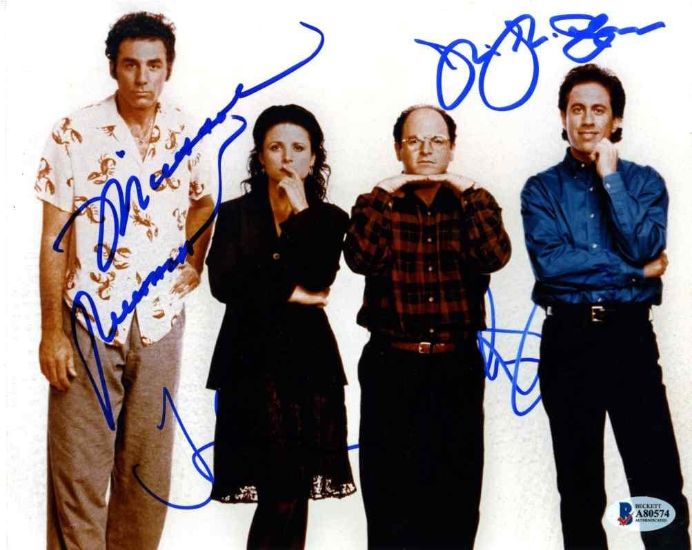 Photo Jerry Seinfeld Signed Autographed 8 x 10