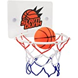 CGRTEUNIE Congerate Slam Dunk Bedroom Bathroom Toilet Office Desktop Mini Basketball Decompress Game Gadget Toy Home Decor fo