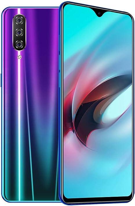 Samsung M9 - Smartphone (Pantalla de 6,3 Pulgadas, 1 + 16 GB, MTK6595, 8 núcleos, 3500 mAh, Android 9.1, Pantalla táctil, Wi-Fi, Blueteth, GPS, 3G, Llamadas), Morado: Amazon.es: Deportes y aire libre