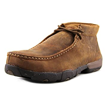 9912f279a51 Amazon.com  Twisted X Men s Casual Work Driving Mocs Steel Toe  Shoes