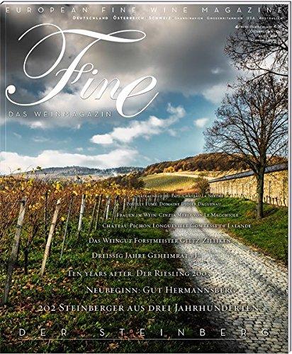 FINE Das Weinmagazin 04/2013: 23. Ausgabe